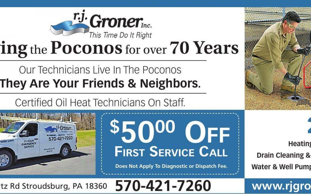 RJ Groner – HVAC & Plumbing