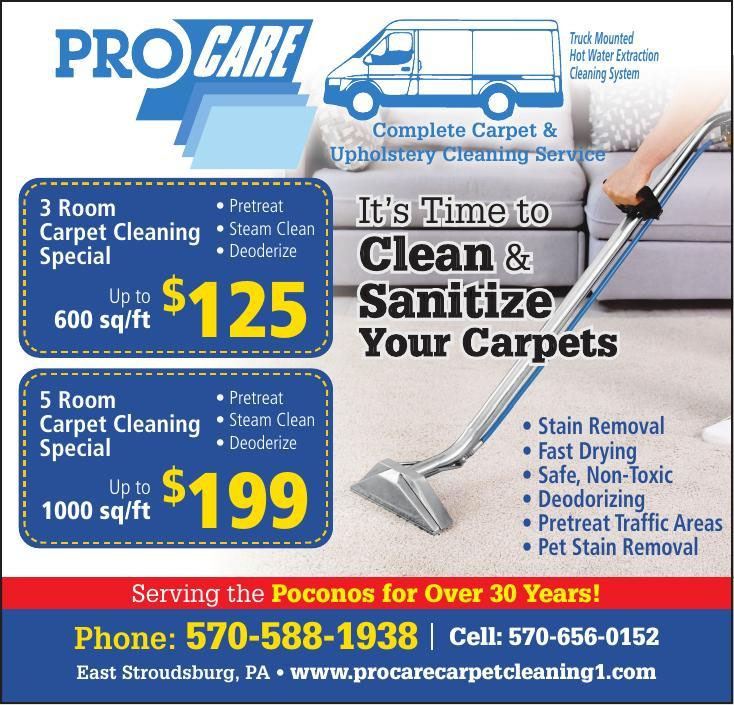Procare - Complete Carpet & Upholstery Cleaning