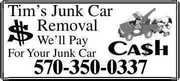 Tim's Junk Car Removal